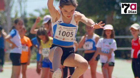 FOTOS El futuro del atletismo regional, en las pistas de Alhama