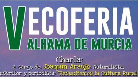 La V Ecoferia contará con Joaquín Araújo el domingo 19 de mayo