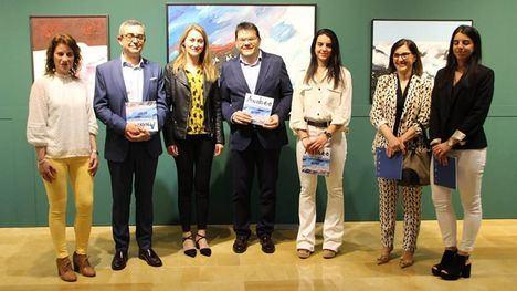 FOTOS La pintura de Andreo vuelve a Alhama con la muestra 'Marinas'