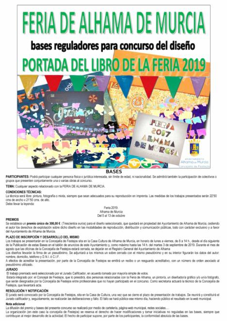 Convocado el concurso para la portada del libro de la Feria 2019