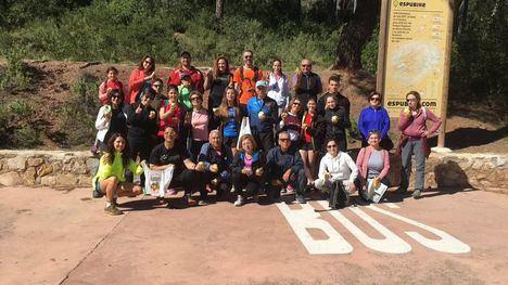 Naturaleza, deporte y solidaridad se unieron en la I Marcha Sucer