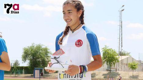 FOTOS Lucía Morales, récord regional en Hexatlón Cadete