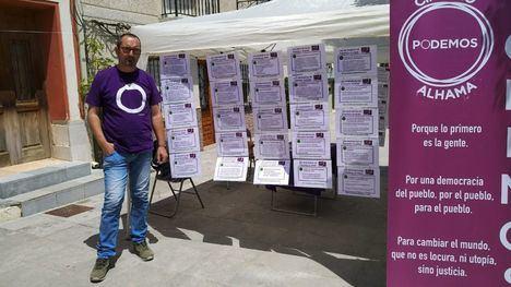 VÍDEO Podemos arranca la campaña electoral en El Berro