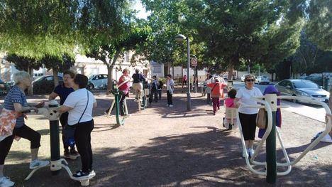 Jornadas deportivas para los mayores en el parque Francisco Rabal