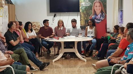 Guevara anuncia una línea de autobús al Hospital de la Arrixaca