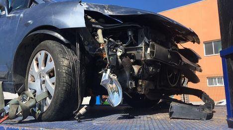 Pide ayuda para hallar al presunto causante de un accidente de tráfico