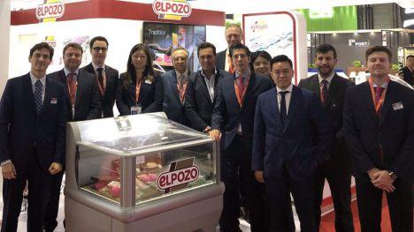 ElPozo refuerza su presencia en China participando en SIAL