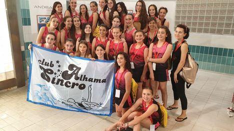 FOTOS Sincro Alhama vuelve de Andorra cargado de medallas