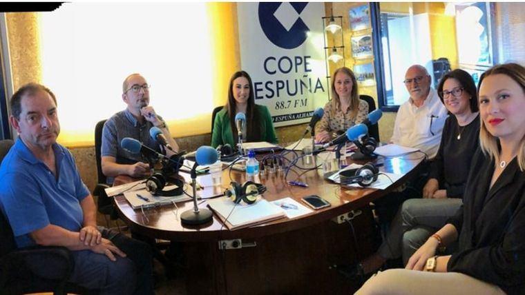 Los candidatos de todas las formaciones han participado en el debate de Cope Espuña