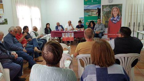 El PSOE se compromete a exigir el arreglo de la carretera a Gebas