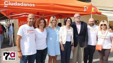 VÍDEO/FOT. Cs dice que los proyectos del PP y PSOE están 'agotados'