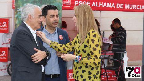 VÍDEO Guevara critica el 'abandono' de Alhama por el Gobierno regional