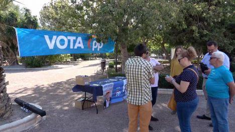 VÍDEO El PP propone subir el porcentaje de reciclaje de orgánicos