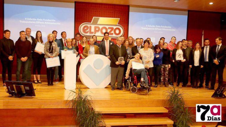 Imagen de la Gala de la Fundación donde se homenajeó a las entidades que recibieron estas ayudas la pasada edición.