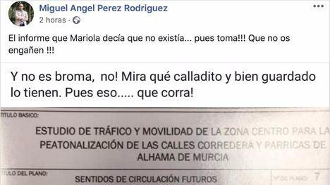 El PSOE acusa al PP de mentir sobre la Zona Azul en el centro
