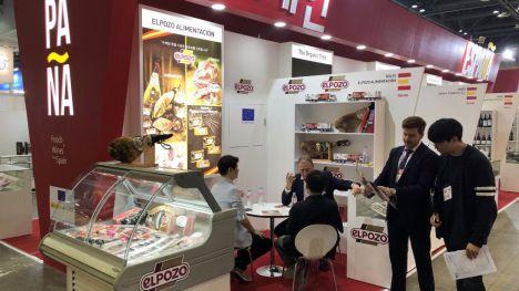 ElPozo participa en Seúl en la feria alimentaria Seoul Food & Hotel
