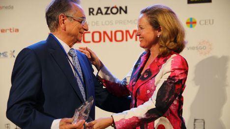 Tomás Fuertes, premio 'Empresario del año' por trayectoria profesional