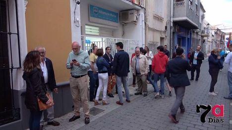 VÍDEO El PP celebra el cierre de campaña en la sede con su militancia