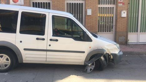 FOTOS Ayuda para localizar al responsable de un accidente