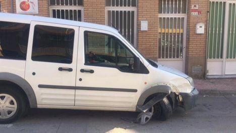 Localizan al presunto autor del accidente en la calle Isla La Gomera