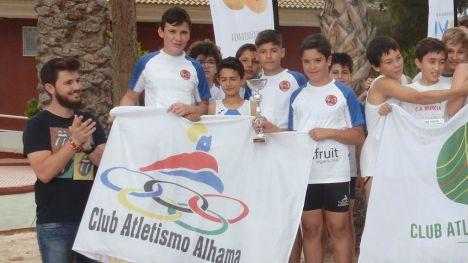 Club Atletismo Alhama, en el Campeonato de España Sub14