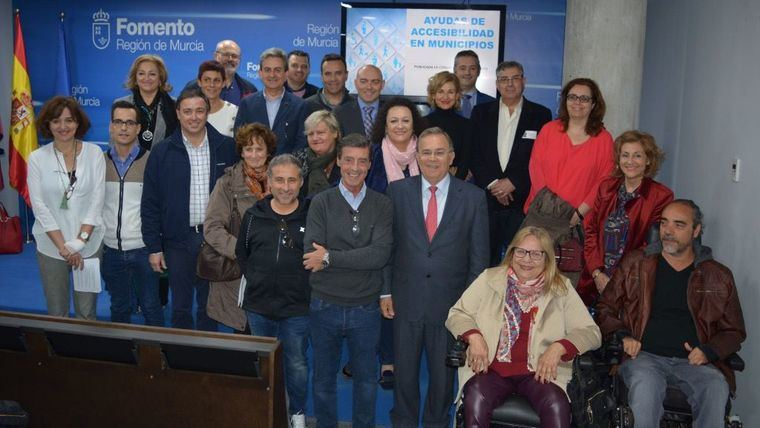 El consejero Patricio Valverde durante la presentación de la convocatoria de ayudas para la mejora de la accesibilidad en los municipios, que tuvo lugar en el mes de marzo.