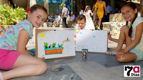 FOTOS Decenas de niños muestran sus dones como pintores