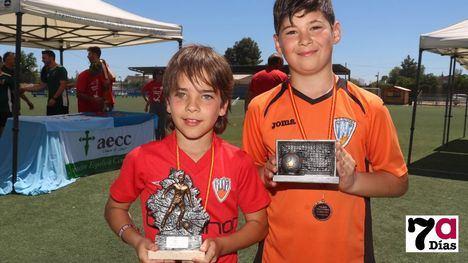 FOTOS La EF Alhama B, subcampeón con el mejor portero y jugador