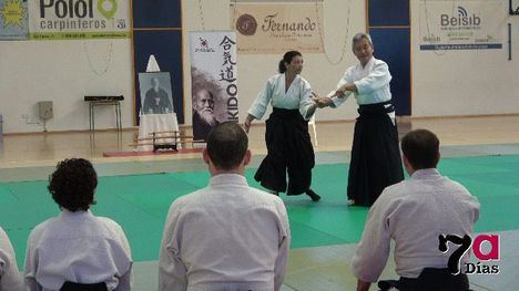 VÍD. Más de 30 alumnos participa en el Curso Nacional de Aikido