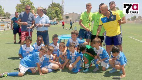 FOTOS El Alhama CF, subcampeón benjamín y la EF Alhama, tercero