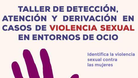 Taller de detección de violencia sexual en entornos de ocio