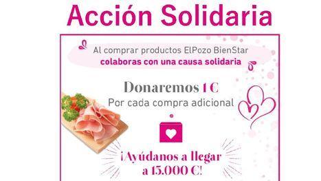 ElPozo Bienestar donará hasta 15.000 euros a tres ONG