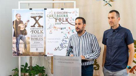 Malvariche actúa en el Festival Cartagena Folk en su décima edición