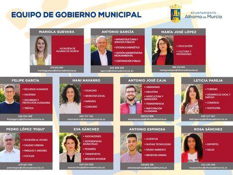 Éste es el nuevo equipo de Gobierno municipal tras las Elecciones