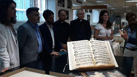 Vuelve restaurado a Totana un manuscrito de polifonía sacra