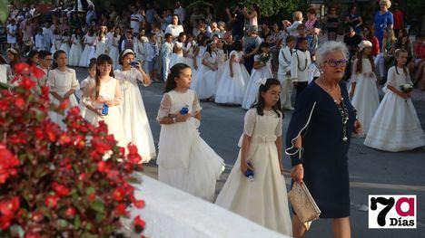 VÍD./FOT. Un emotivo y solemne Corpus Christi recorre Alhama