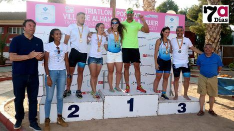 FOT. Alhama, fiesta del deporte con el Triatlón Popular y de la Mujer
