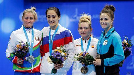 FOTOS Irene Díaz logra el bronce en sambo en los Juegos Europeos