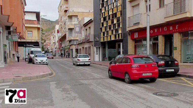 Imagen de la avenida Cartagena antes del inicio de las obras de remodelación.