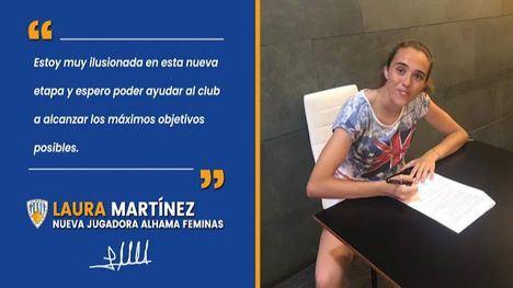 El Alhama Femenino refuerza la portería con Laura Martínez