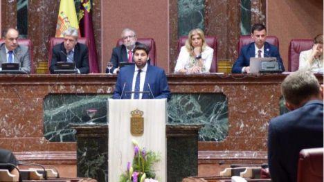López Miras se enfrenta a la segunda votación de su investidura