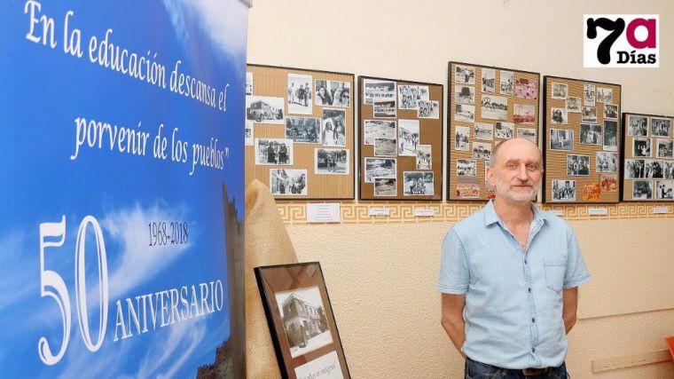 Imagen de Archivo del director del IES Valle de Leiva, Roberto García.