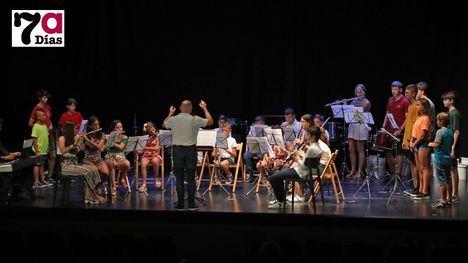 VÍDEO/FOTOS Gran concierto fin de curso de MusicAlhama