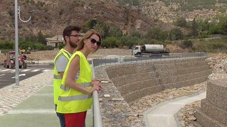 VÍDEO El acceso al futuro IES Valle de Leiva, en su recta final