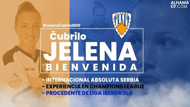 El Alhama Femenino ficha a la delantera serbia Jelena Cubrilo