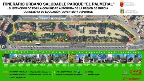 El Jardín de El Palmeral estrena un doble itinerario saludable