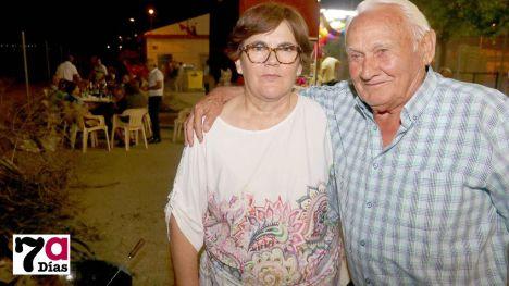 Ana María García y Manuel Gambín, pedáneos de El Cañarico y Gebas