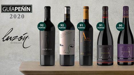 La guía Peñín califica de excelentes ocho vinos de Bodegas Luzón