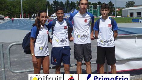 FOTOS Gran papel de nuestros atletas en el nacional Sub16 en Gijón