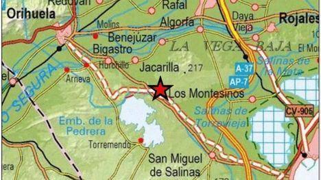 Un seísmo en Alicante y sus réplicas se dejan sentir en Murcia